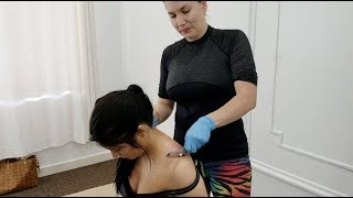 Download MEGA Explosive Release of Spinal Tension from Chiropractic Adjustment for Mid-Back and Shoulder Pain Mp3 and Videos