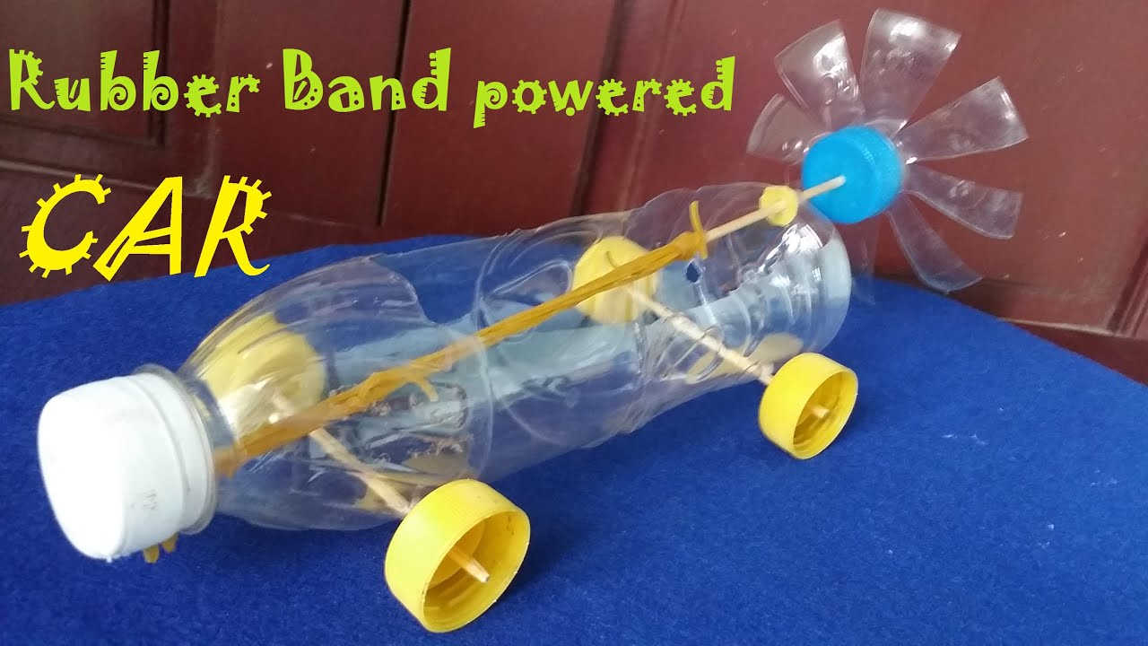 How To Build A Rubber Band Car 99