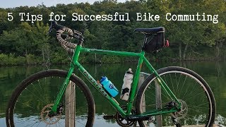 My 5 Tips for Successful Bike Commuting