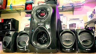 INTEX IT CRAZE SUFB 5.1 HOME THEATRE EXTREME LEVEL SOUND TEST ONLY 4000RS