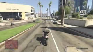 GTA V Gameplay - Bank Robbery