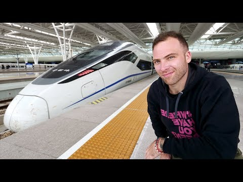 Chinese BULLET TRAIN First Class REVIEW to SUZHOU - The VENICE of the EAST! | Shanghai to Suzhou