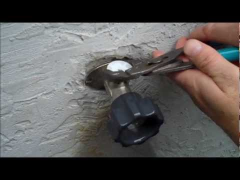 Mansfield Style Hydrant Repair Video - Leaking from Vacuum Breaker ...