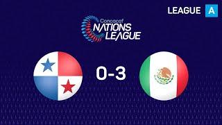 #CNL Highlights: Panama 0-3 Mexico