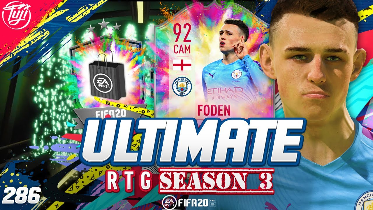 PARTY BAG SBC!!! 92 FODEN UNLOCKED! ULTIMATE RTG #286 - FIFA 20 Ultimate Team Road to Glory