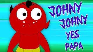 Johny Johny Да папа | дошкольные песни | Jonny Jonny | Zebra Russia | русский мультфильмы для детей
