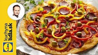 Pizza so šunkou a salámou | Marcel Ihnačák | Kuchyna Lidla