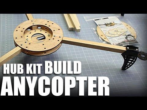 Flite Test - AnyCopter Hub Kit - BUILD - YouTube