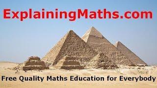 how to solve past paper question about sequences explainingmaths com gcse maths
