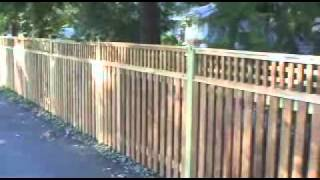 Mid Atlantic Deck And Fence Co. Cedar Fence Square Latt. Maryland,md