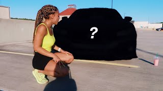 I Got My Car Wrapped! Reveal + Car Tour | Azlia Williams