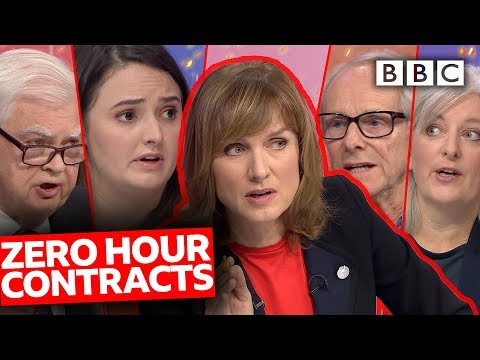 Zero Hour Contracts: Freedom or Exploitation? | Question Time - BBC