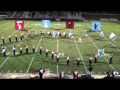 Versailles Marching Tigers 2014 State-Qualifying Performance