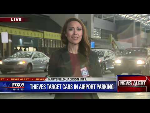 Thieves Target Cars In Airport Parking
