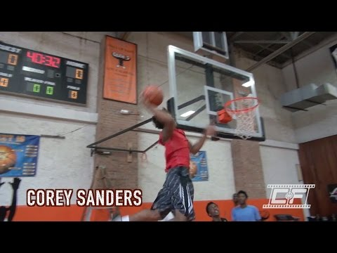 Corey Sanders Off The Side Off Board Slam From Anotnio Blakeney