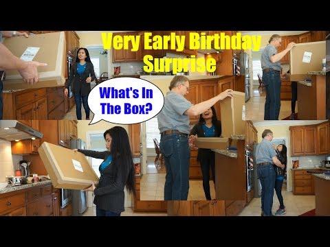 American Surprise Filipina Wife On Birthday - America Filipina Life In American-