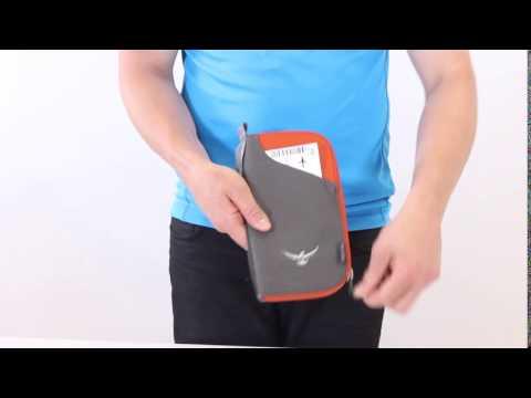 Document Zip Wallet - Exterior ticket & Secure