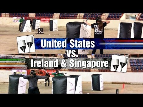 International Archery Tag Match!