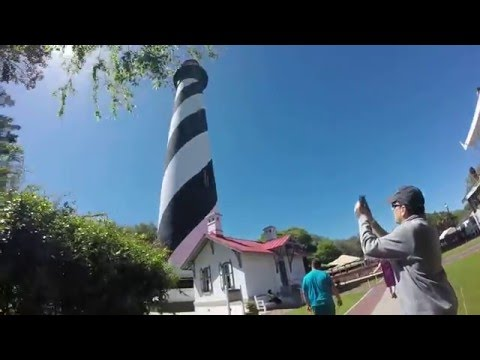 Mike Rowland 330- Visits a light house, St. Augustine Florida