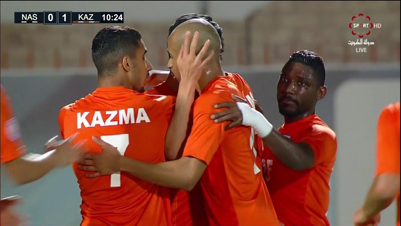 مباراة النصر x كاظمة - دوري فيفا لكرة القدم - الخميس 2018\11\8