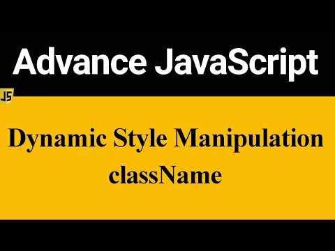 Dynamic Style Manipulation In JavaScript (Hindi)