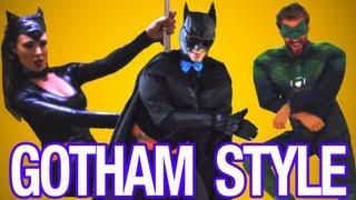 GOTHAM STYLE! - PSY - GANGNAM STYLE (강남스타일) M/V Parody - Mischief Tube - Christiano Covino thumbnail