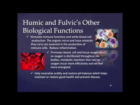 Do not take Humic or Fulvic Acid until you watch this shocking presentation!