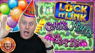 🎉Cats, Bats & BIRTHDAY HATS! 🎉Raja's Lock It Link Birthday Win! 💥