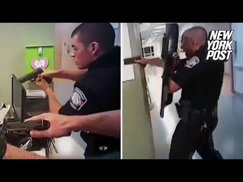 Police gun down armed senior citizen in a hospital   New York Post