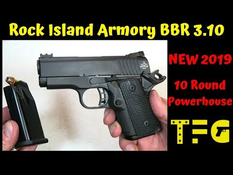 FIREARM REVIEW] Rock Island Armory BBR 3 10 Sub-Compact 1911