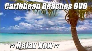 CARIBBEAN BEACHES + HAWAIIAN DREAMS by WAVES DVD Nature Sounds #1 Ocean Relax Videos