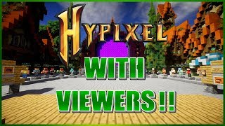 🔴HYPIXEL MINECRAFT LIVE!! ~PUBLIC PARTY!!~ (Road to 4K!!) thumbnail