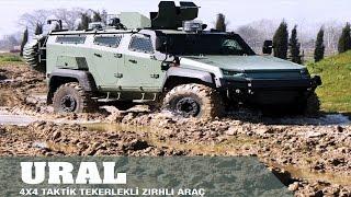 OTOKAR - URAL 4x4 TTZA Taktik Tekerlekli Zırhlı Araç