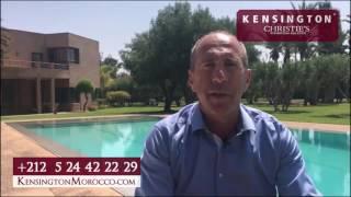Vendre une Villa Dans la Palmeraie Marrakech (KensingtonMorocco.com)