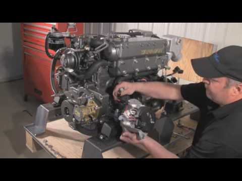 Marine Alternator Marine Regulator Installation by Electromaax