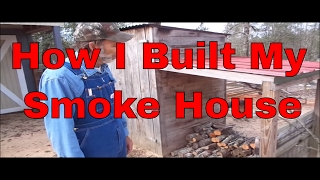 How I Built My Smoke House
