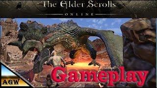 The Elder Scroll Online Gameplay (PC game)