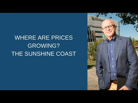 Where Are Prices Growing?   The Sunshine Coast