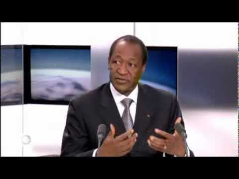 Blaise Compaoré sur TV5Monde
