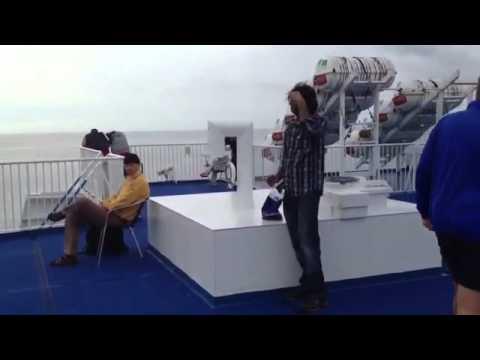 Angelo Dogar & Raja Nomi In Ferry Denmark To Germany