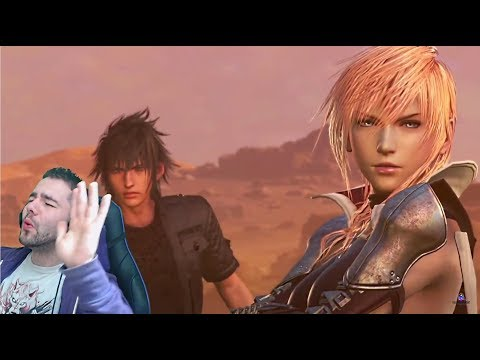 "Final Fantasy Dissidia NT Story Trailer REACTION! | ""A Princely welcome"""