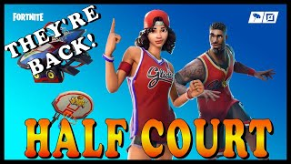 "FORTNITE: ""HALF COURT"" SKINS SET are BACK in the ITEM SHOP! - NEW ""BURST SMG"" WEAPON!"