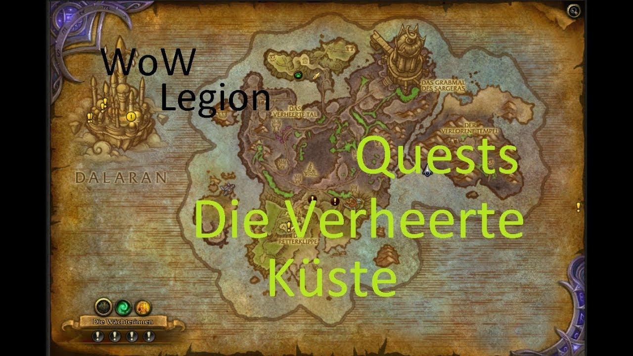 Izocke Wow Legion Quests In Die Verheerte Küste 082 Champions