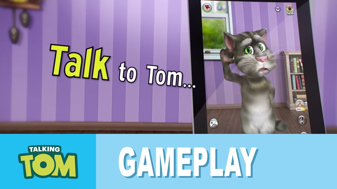 Talking Tom 2 Gameplay Trailer Youtube