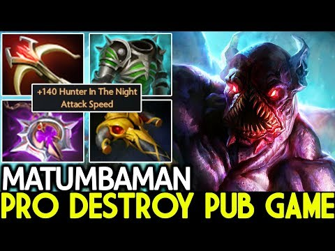 Matumbaman [Nightstalker] Pro Destroy Pub Game Solo Mid 7.21 Dota 2 thumbnail