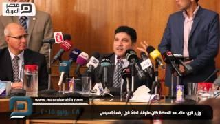 مصر العربية   وزير الري: ملف سد النهضة كان متوقف تمامًا قبل رئاسة السيسى