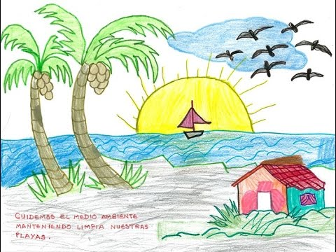 Drawing Competition In Some School In Chittagong Beautiful Drawing