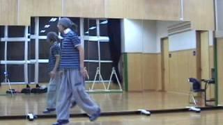 ヒップホップダンス レッスンA  初心者 基本 HIPHOP dance lesson