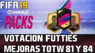 FIFA 19 SBC Votacion Futties y Mejoras TOTW 81 y 84 😎⚽