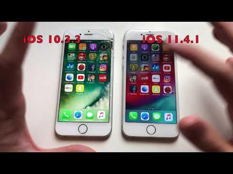IPhone 6 IOS 11.4.1 Vs 10.3.3